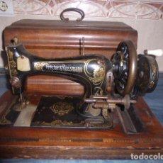 Antigüedades: ANTIGUA MAQUINA DE COSER FRISTER & ROOSMANN. Lote 67970745