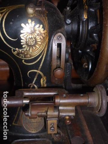 Antigüedades: ANTIGUA MAQUINA DE COSER FRISTER & ROOSMANN - Foto 4 - 67970745