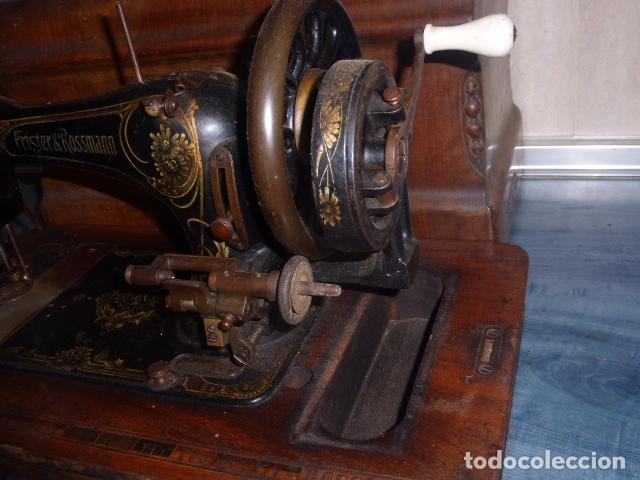 Antigüedades: ANTIGUA MAQUINA DE COSER FRISTER & ROOSMANN - Foto 5 - 67970745