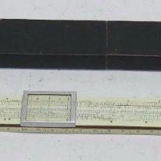 Antigüedades: ANTIGUA REGLA DE PRECISIÓN MARCA ALBERT NESTLER, N.14, FABRICADA EN LO QUE PARECE MADERA Y MARFIL, E. Lote 68005857