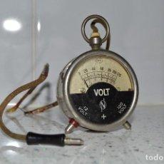 Antiguo voltímetro de bolsillo, original, muy buen estado, años 20.