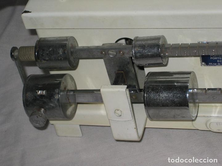 Antigüedades: Antigua báscula de farmacia - Foto 6 - 68226441