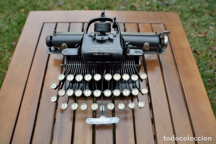 MÁQUINA DE ESCRIBIR REM-BLICK, 1928. USA. (Antigüedades - Técnicas - Máquinas de Escribir Antiguas - Remington)