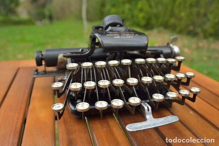 Antigüedades: Máquina de escribir Rem-Blick, 1928. USA. - Foto 2 - 159381549