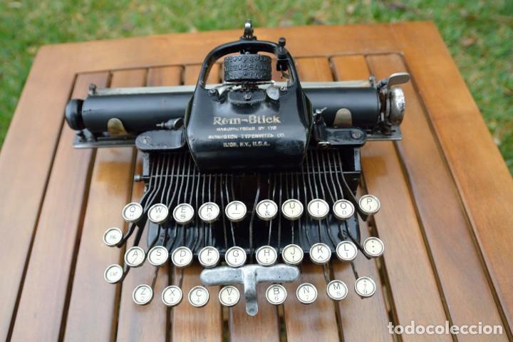 Antigüedades: Máquina de escribir Rem-Blick, 1928. USA. - Foto 3 - 159381549