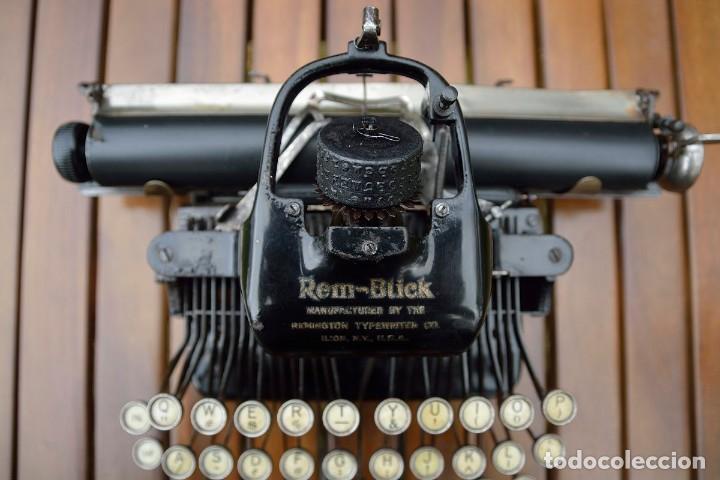 Antigüedades: Máquina de escribir Rem-Blick, 1928. USA. - Foto 5 - 159381549
