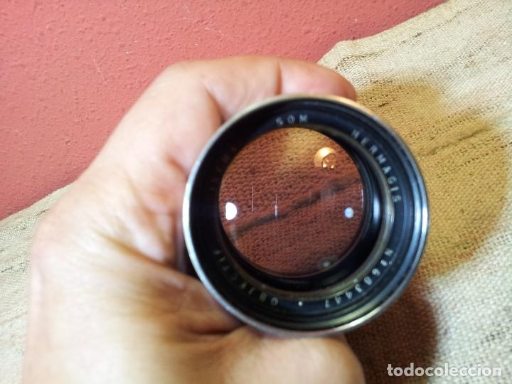 Antigüedades: HERMAGIS Paris Cinema lens F=125 mm No.683447 para proyector - Foto 22 - 68361853