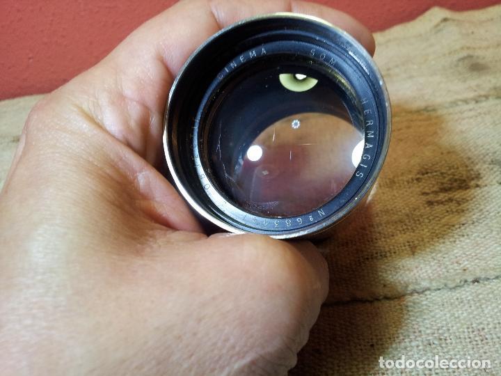 Antigüedades: HERMAGIS Paris Cinema lens F=125 mm No.683447 para proyector - Foto 32 - 68361853