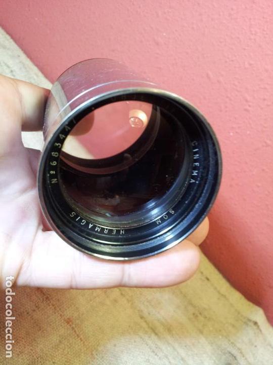 Antigüedades: HERMAGIS Paris Cinema lens F=125 mm No.683447 para proyector - Foto 39 - 68361853