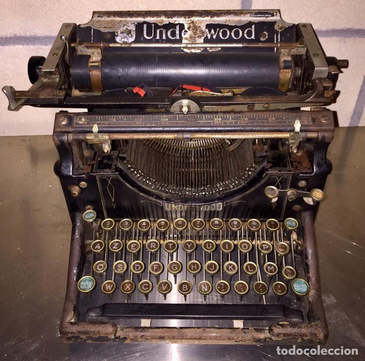 UNDERWOOD PARA DECORACIÓN (Antigüedades - Técnicas - Máquinas de Escribir Antiguas - Underwood)