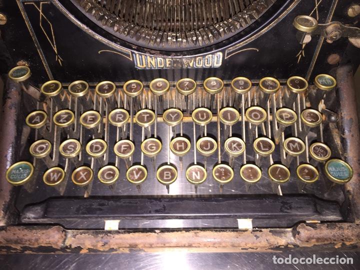 Antigüedades: Underwood para decoración - Foto 5 - 68379857