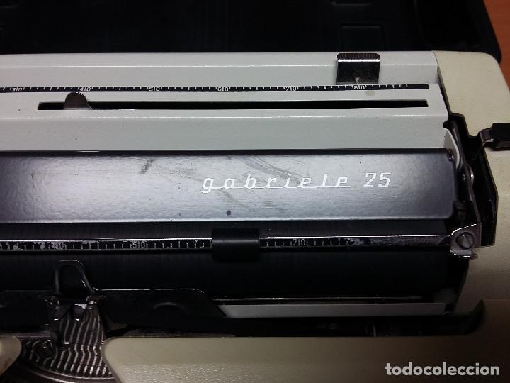 Antigüedades: maquina escribir triumph gabriele 25 - Foto 3 - 68508985