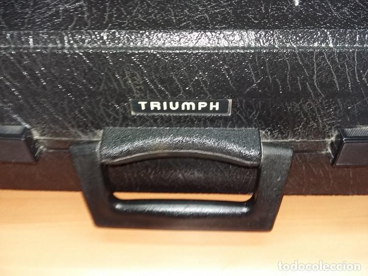 Antigüedades: maquina escribir triumph gabriele 25 - Foto 5 - 68508985