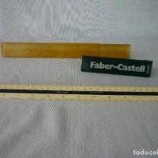 Antigüedades: ESCALÍMETRO FABER CASTELL EN PERFECTO ESTADO CON FUNDA BICOLOR. Lote 68610089