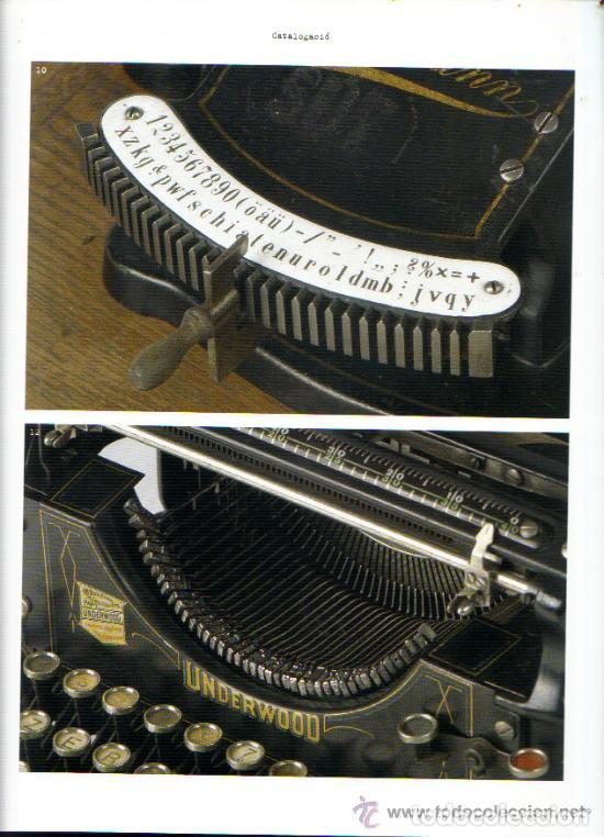 Antigüedades: LA MÀQUINA D`ESCRIURE EINA DE TREBALL PEÇA DE MUSEU LIBRO EXPOSICIÓN 2007 máquina de escribir - Foto 5 - 68664285