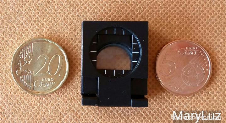 Antigüedades: LUPA PLEGABLE-CUENTAHILOS (2). Años 80-90. - Foto 4 - 68674081