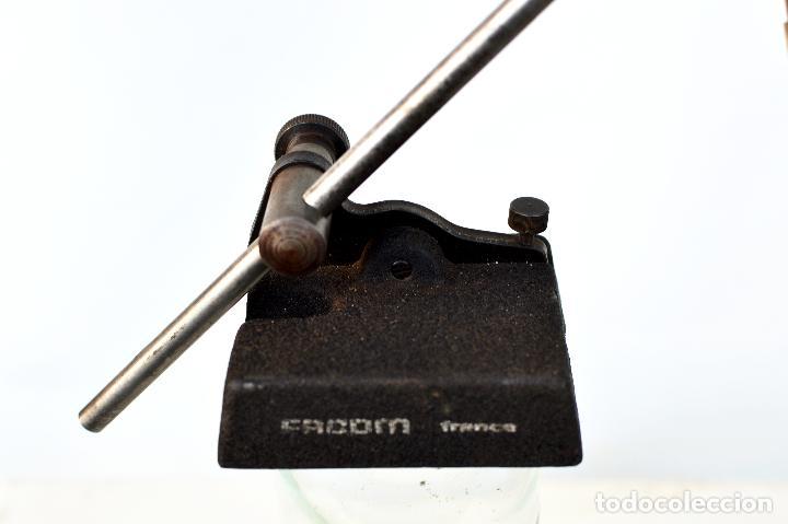 Antigüedades: GRAMIL DE ACERO PARA METALES francés de la marca RACOM - Foto 5 - 68694673
