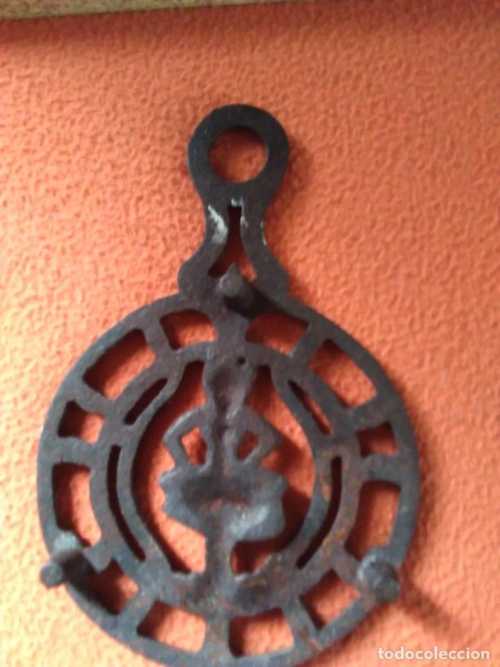 Antigüedades: Reposa planchas o salvamanteles de hierro - Foto 6 - 69065485