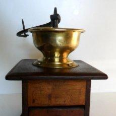 Antigüedades: VIEJO MOLINILLO DE CAFÉ. ÉPOCA LOUIS PHILIPPE / NAPOLEÓN III, FRANCIA. CA. 1850/1875. Lote 69069613