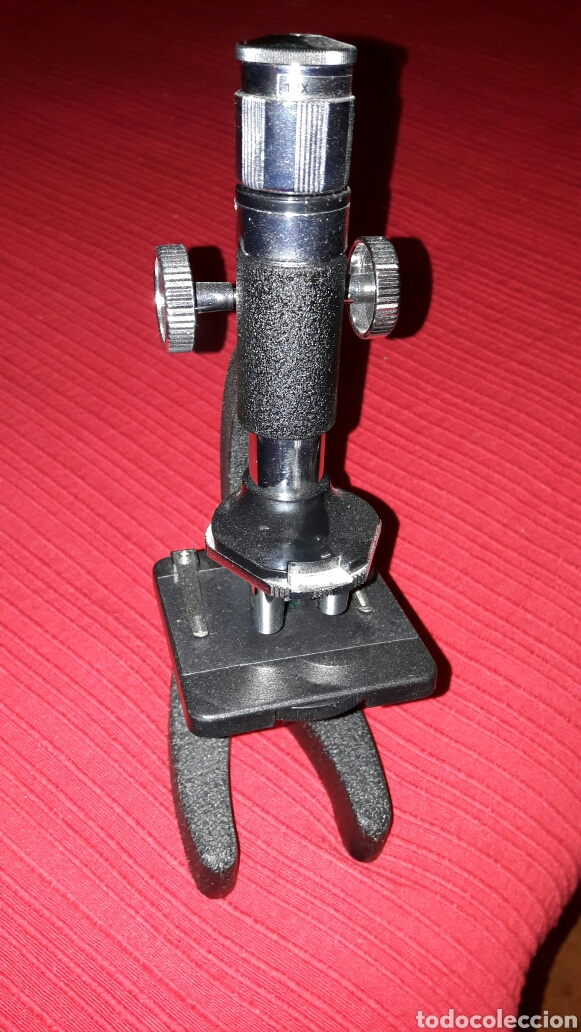 Antigüedades: Microscopio - Foto 2 - 69093435
