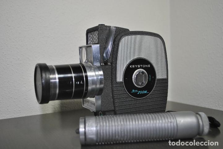 CAMARA DE CINE O TOMAVISTAS KEYSTONE ZOOM 8mm ELECTRIC EYE K7