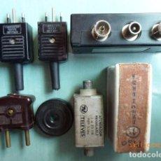 Antigüedades: CONJUNTO DE ALGUNOS ACCESORIOS DE ELECTRICIDAD. Lote 69239961