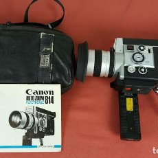 Antigüedades: FILMADORA CANON AUTO ZOOM 814. SUPER 8. MADE IN JAPAN. CIRCA 1970.. Lote 69371517