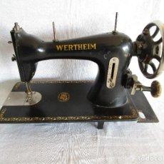 Antigüedades: ANTIGUA MAQUINA COSER WERTHEIM . Lote 69384161