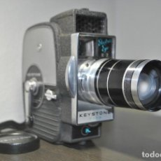Antigüedades: CAMARA DE CINE O TOMAVISTAS KEYSTONE ZOOM 8MM ELECTRIC EYE K7. Lote 69214153