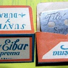 Antigüedades: HOJA DE AFEITAR. FILO EIBAR SUPREMA, SIN FECHA. Lote 182822117