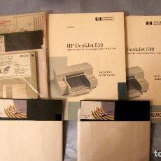 Oggetti Antichi: LOTE: IMPRESORA HP DESKJET 510: DOCUMENTACION COMPLETA. Lote 69476953