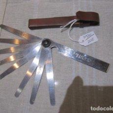 Antigüedades: REGLAS O GALGAS PARA REGULAR TAQUÉS.. Lote 69486649