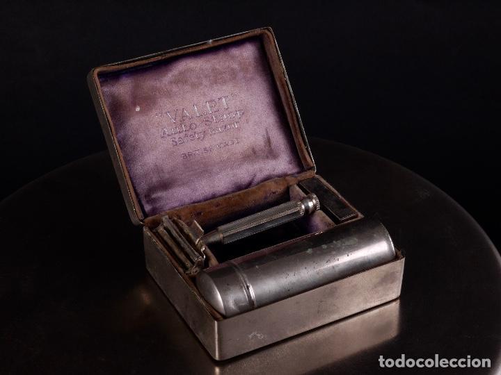 MAQUINILLA DE AFEITAR VALET (Antigüedades - Técnicas - Barbería - Varios Barbería Antiguas)