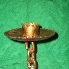Antigüedades: ESPALMATORIA EN FORJA ARTESANAL. Lote 69518221