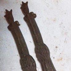 Antigüedades: 2 TIRADORES. Lote 69587825