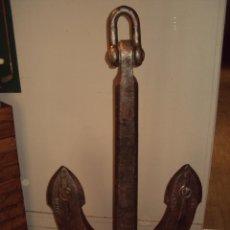 Antigüedades: COLOSAL ANCLA ANTIGUA FUNDICIÓN. Lote 69596537