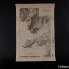 Antigüedades: CARTA NÁUTICA DEL PUERTO DE ANDRAITX 1892. Lote 69604169