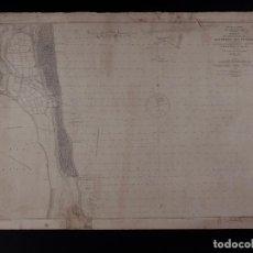 Antigüedades: CARTA NÁUTICA DE SAN PEDRO DEL PINATAR 1882. Lote 69604965