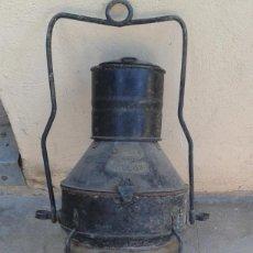Antigüedades: FAROL BARCO MARINO NAVAL ANTIGUO GRANDE 57 CMS ANCHOR INGLES SINGLO XX 57 CMS MIRA FOTOS. Lote 69663185