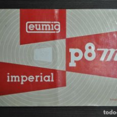 Antigüedades: MANUAL EUMIG P8 M IMPERIAL - FRANCES. Lote 69746873