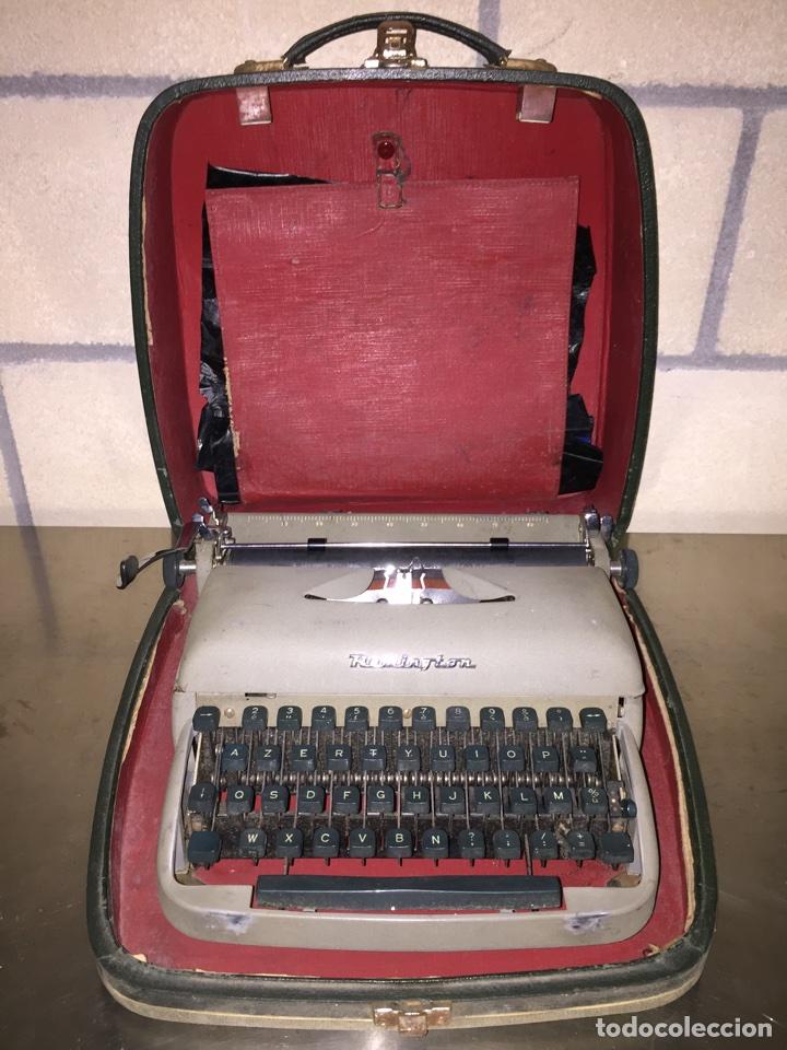 MÁQUINA DE ESCRIBIR REMINGTON PORTÁTIL (Antigüedades - Técnicas - Máquinas de Escribir Antiguas - Remington)