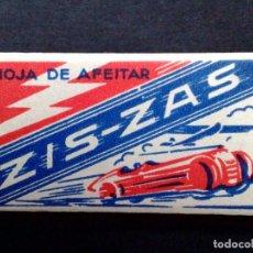 Antigüedades: HOJA DE AFEITAR ANTIGUA-ZIS-ZAS-EXTRA RAPIDA-VINTAGE. Lote 69868569