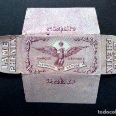Antigüedades: HOJA DE AFEITAR ANTIGUA-FENIX-TEXTO EN FRANCES-VINTAGE. Lote 69872149