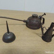 Antigüedades: ACEITERAS 3 UNIDADES. Lote 69920349