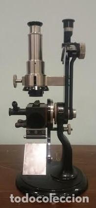 REFRACTÓMETRO ABBE FABRICADO POR CARL ZEISS, JENA, ALEMANIA (CON CAJA E INSTRUMENTAL) (Antigüedades - Técnicas - Instrumentos Ópticos - Microscopios Antiguos)