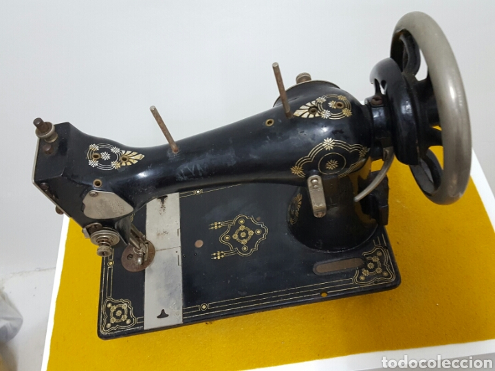 Antigüedades: Antigua máquina de coser. - Foto 2 - 70006117