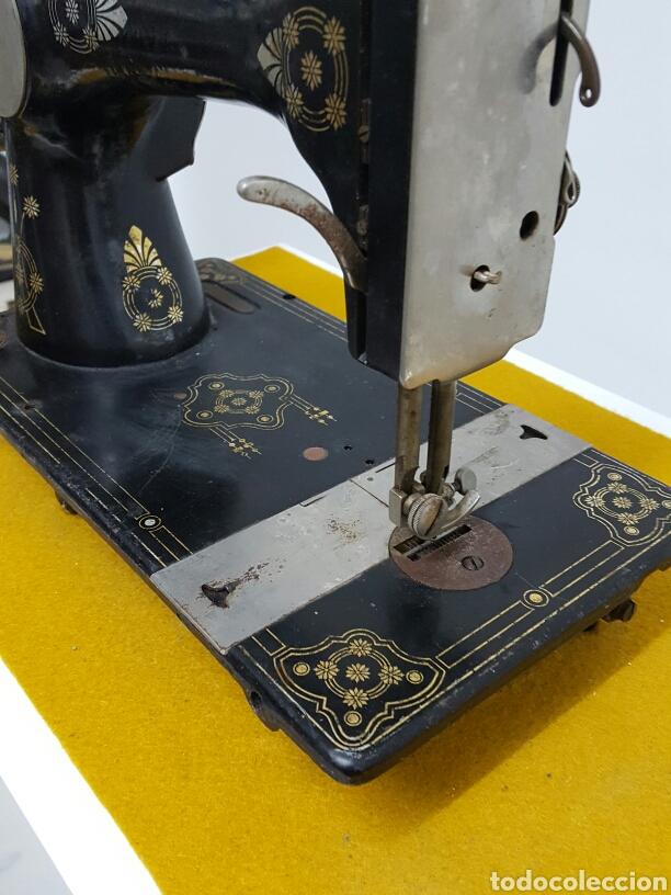 Antigüedades: Antigua máquina de coser. - Foto 5 - 70006117