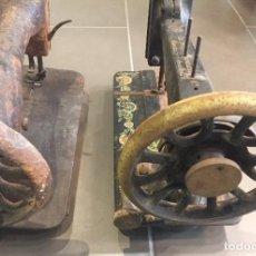 Antigüedades: LOTE DE 2 MAQUINAS DE COSER ANTIGUAS. Lote 70087697