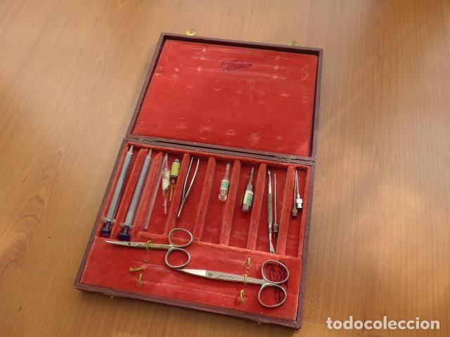 Antiguo botiquin de medico o enfermera de pri comprar herramientas profesionales medicina en - Botiquin antiguo ...
