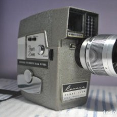 Antigüedades: CAMARA DE CINE O TOMAVISTAS REVERE POWER ZOOM EYE MATIC 6MM SUPER 8. Lote 70227417